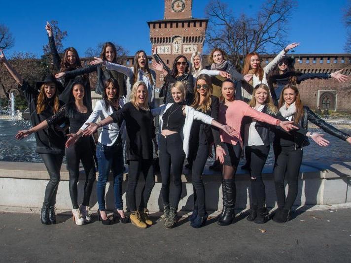 Tag voller Highlights für die rund 20 Misswahl-Anwärterinnen