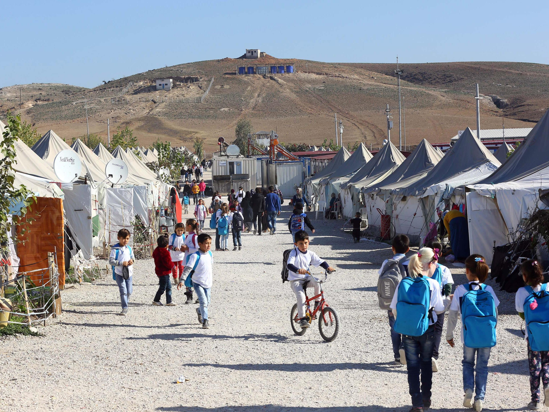 Flüchtlingshilfe: Ankara soll mehr Geld von EU fordern. Im Bild: ein türkisches Flüchtlingscamp.