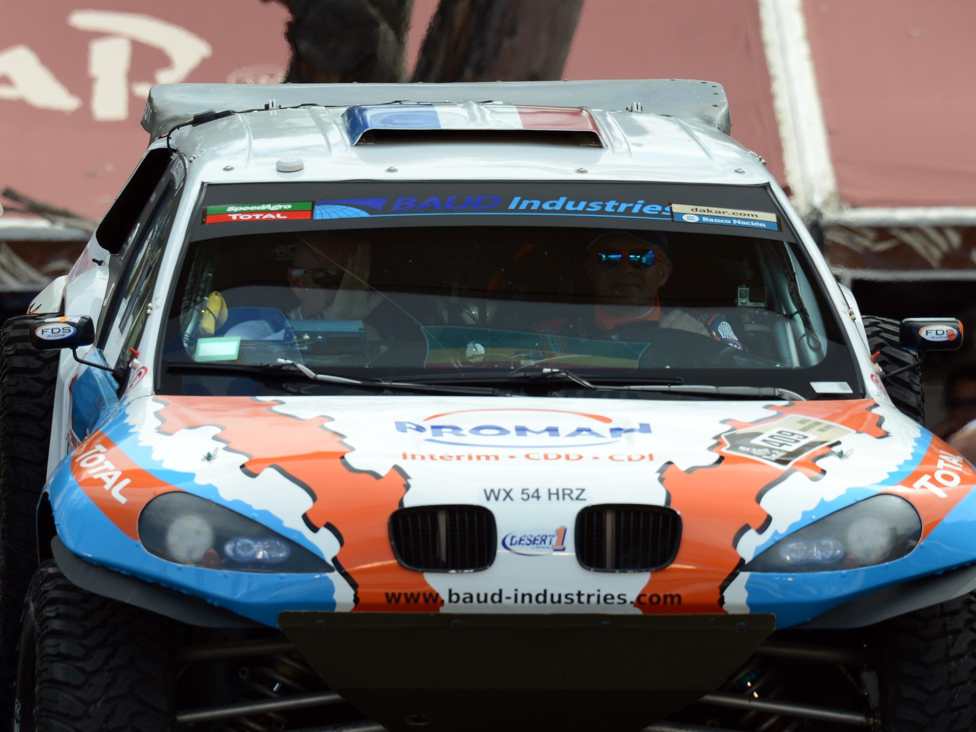 Dakar fordert erstes Todesopfer - Zuschauer von Auto des Franzosen Lionel Baud erfasst.