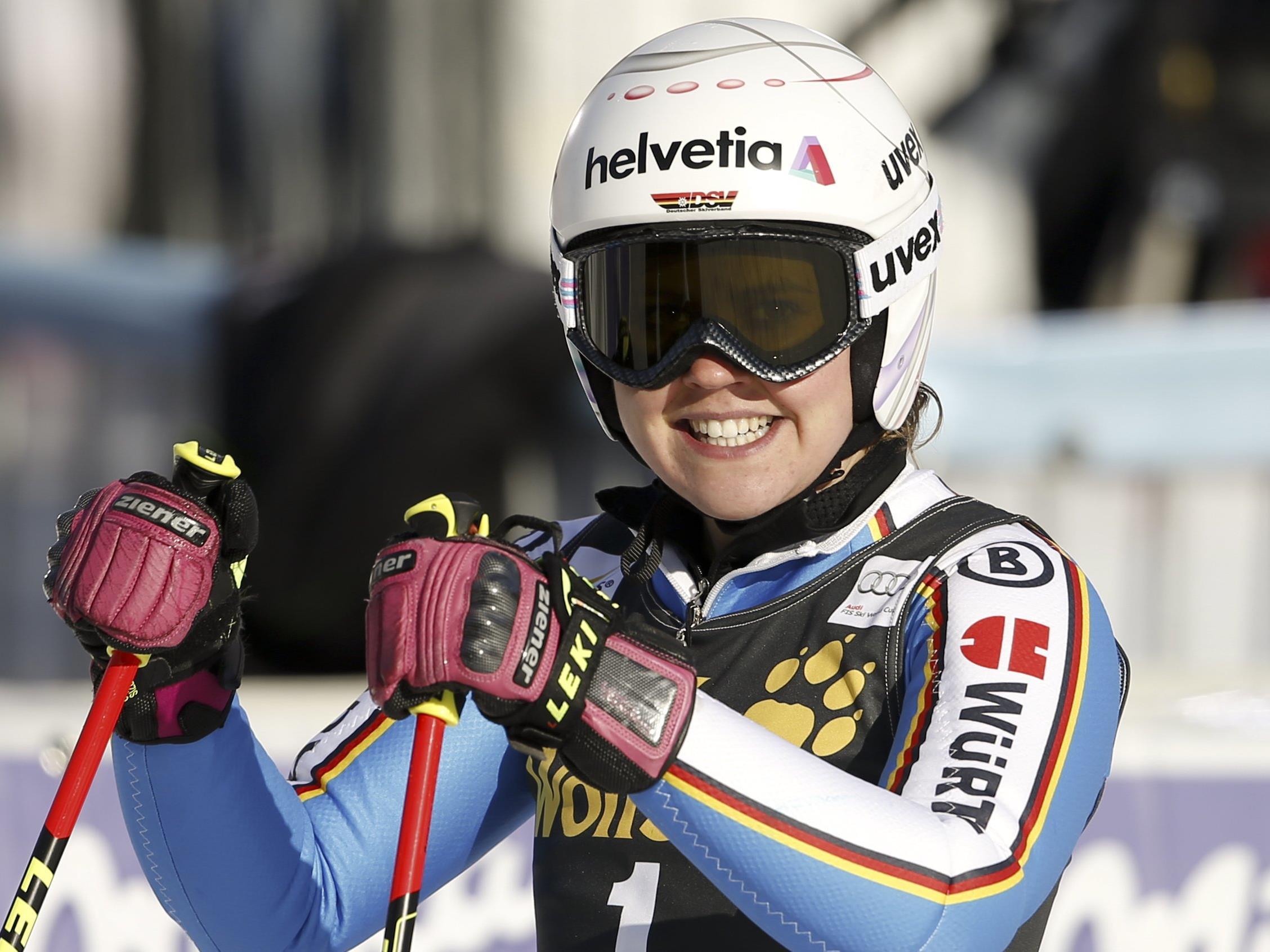 Rebensburg gewinnt Weltcup-Riesenslalom in Maribor