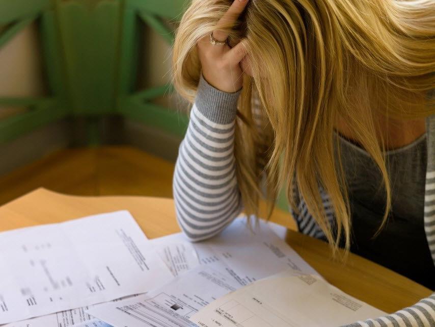71 Prozent der Betroffenen leiden unter Stresssymptomen