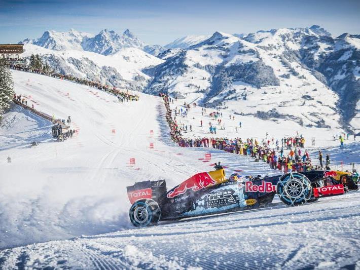 Formel 1 Showrun mit Max Verstappen