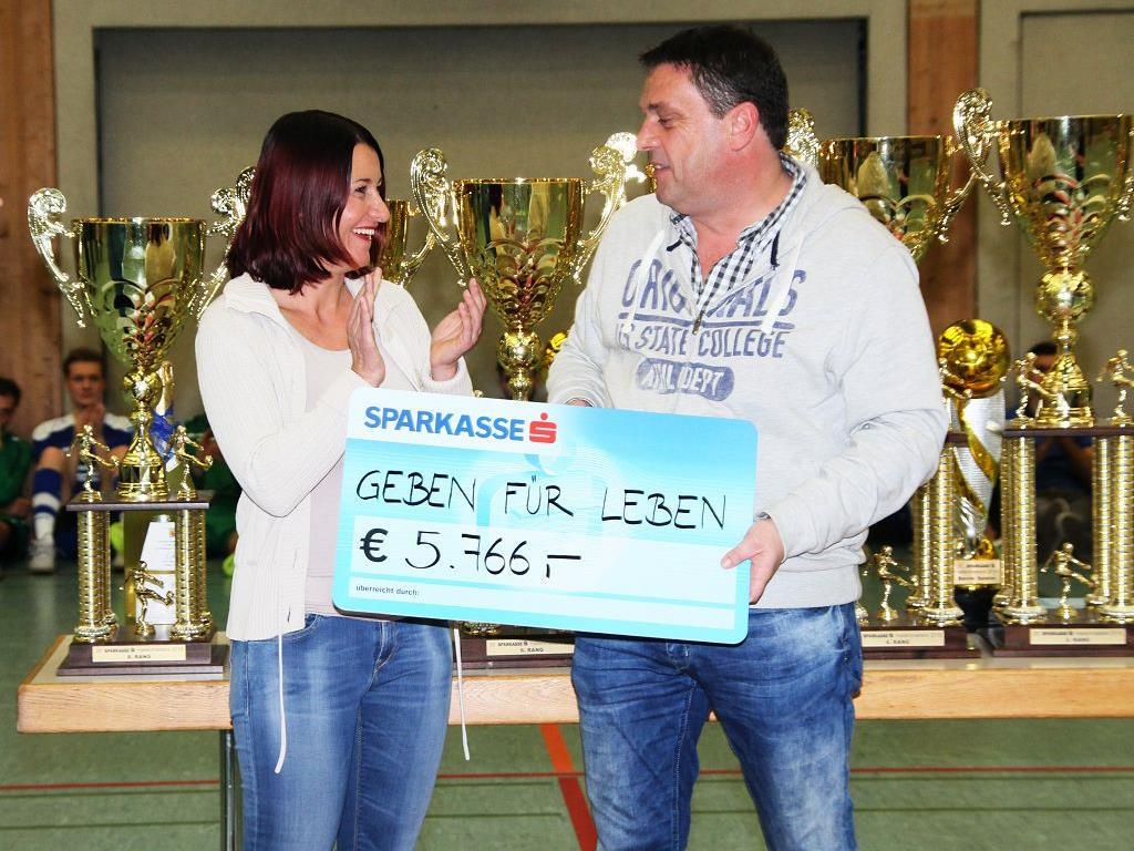 Knapp über 7000 Euro wurden für den schwerkranken Lukas aus Doren gespendet