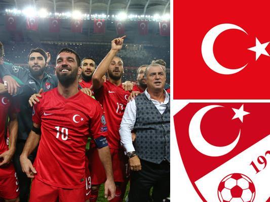 Kader und Teamportrait der türkischen Nationalmannschaft.