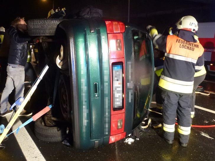 Pfändertunnel musste nach schwerem Unfall gesperrt werden.