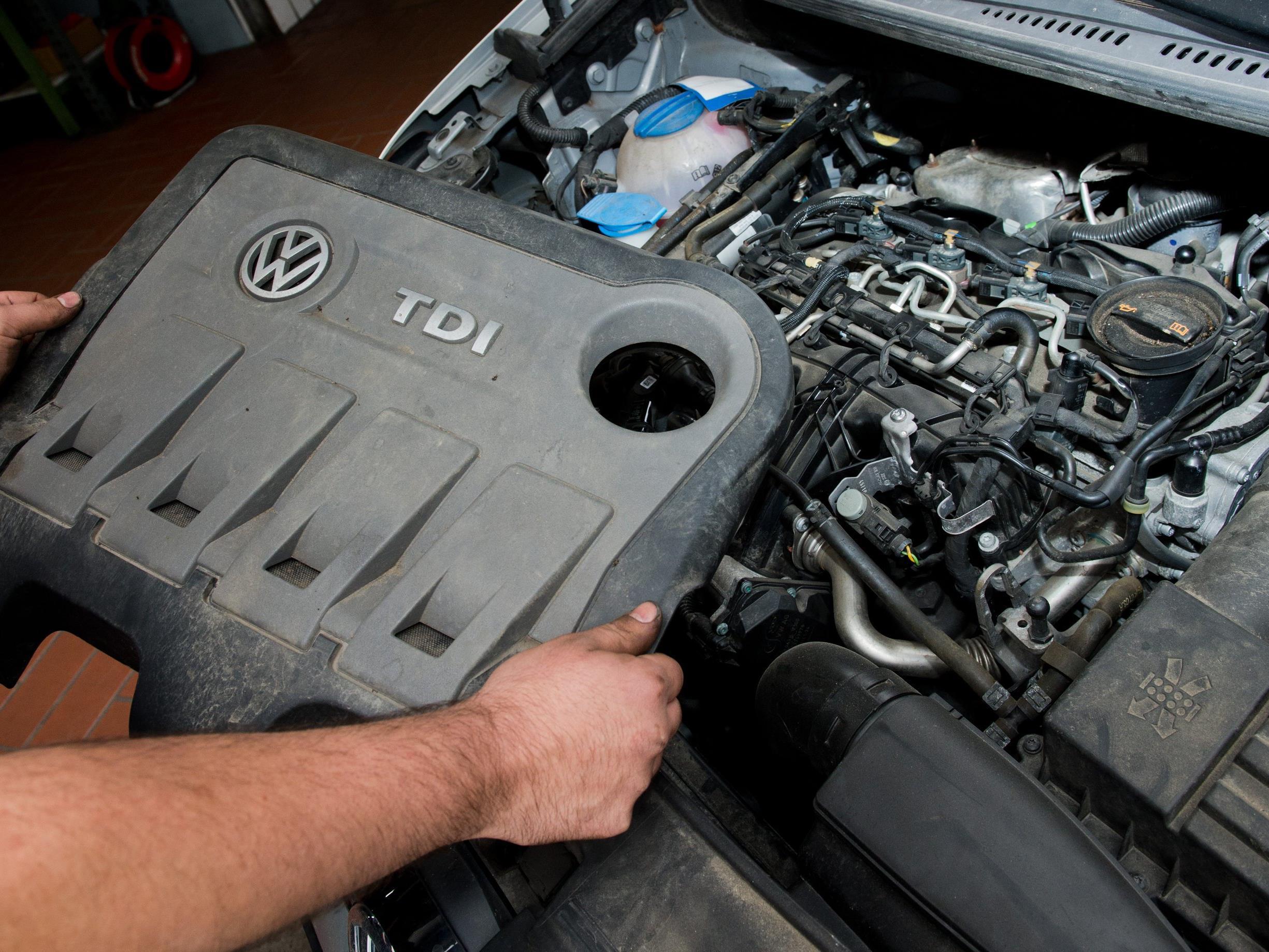 Abgasskandal: VW beginnt mit der Rückrufaktion.