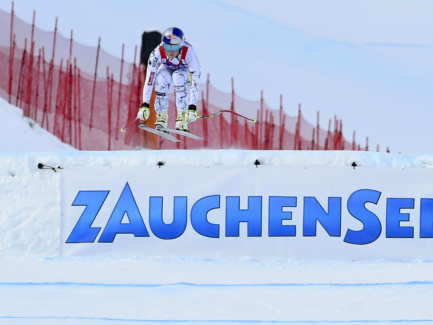 Vonn dominiert Zauchensee-Sprintabfahrt.
