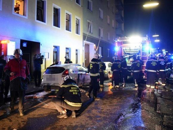 Mehrere Verletzte bei Brand in Wien-Favoriten