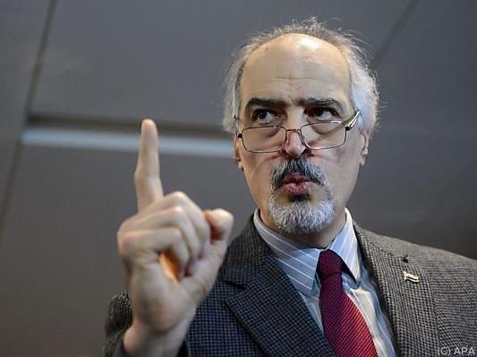 "Syriens UNO-Botschafter Al-Jaafar nennt HNC-Delegation ""unglaubwürdig"""