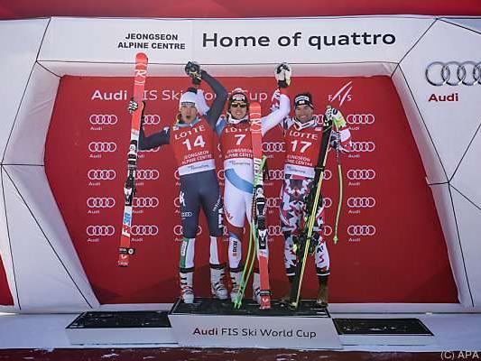 Janka gewann vor Innerhofer und Kriechmayr