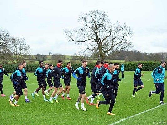 Arsenal muss gegen Barcelona bestehen