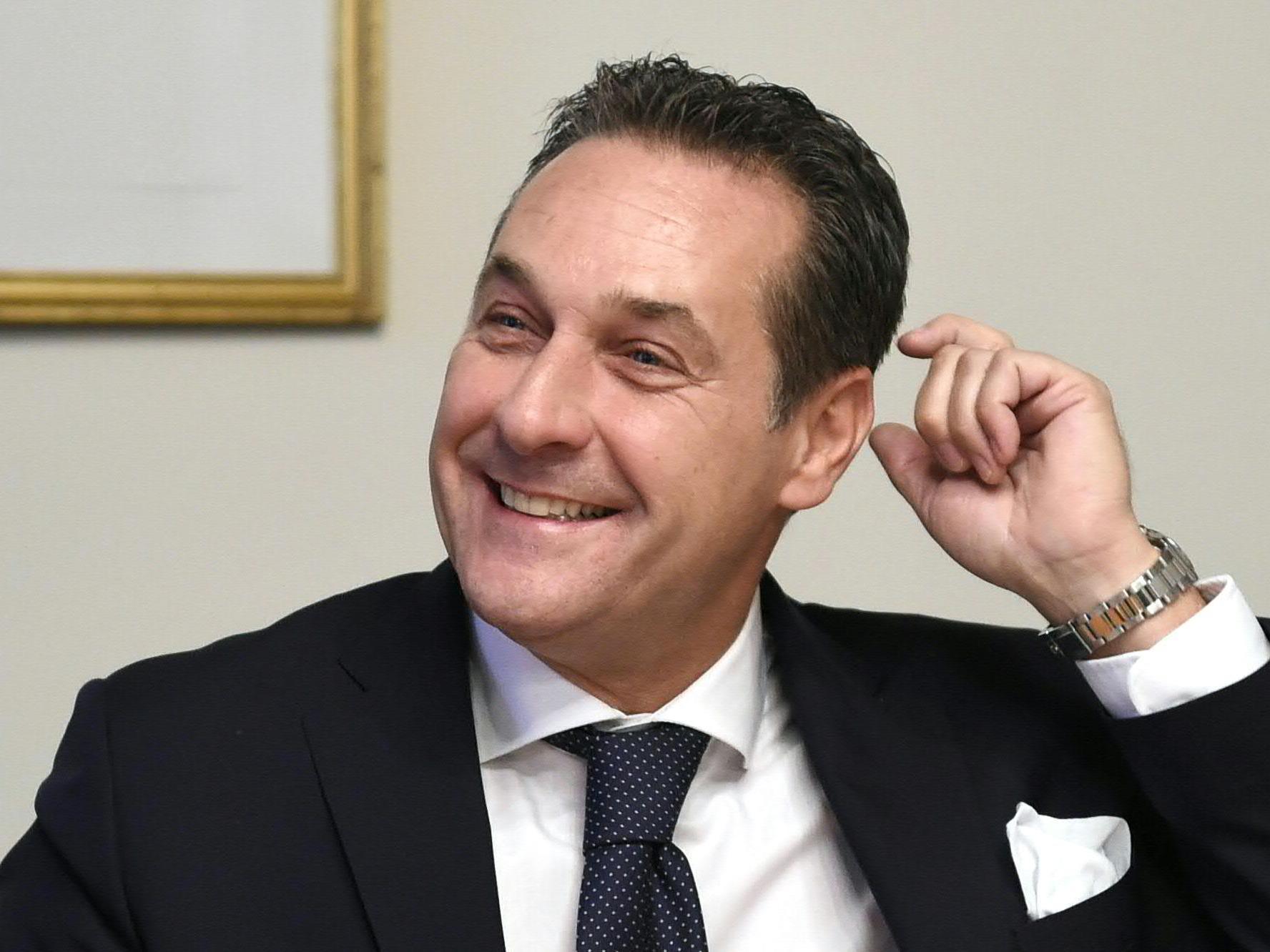 FPÖ-Chef Heinz-Christian Strache.