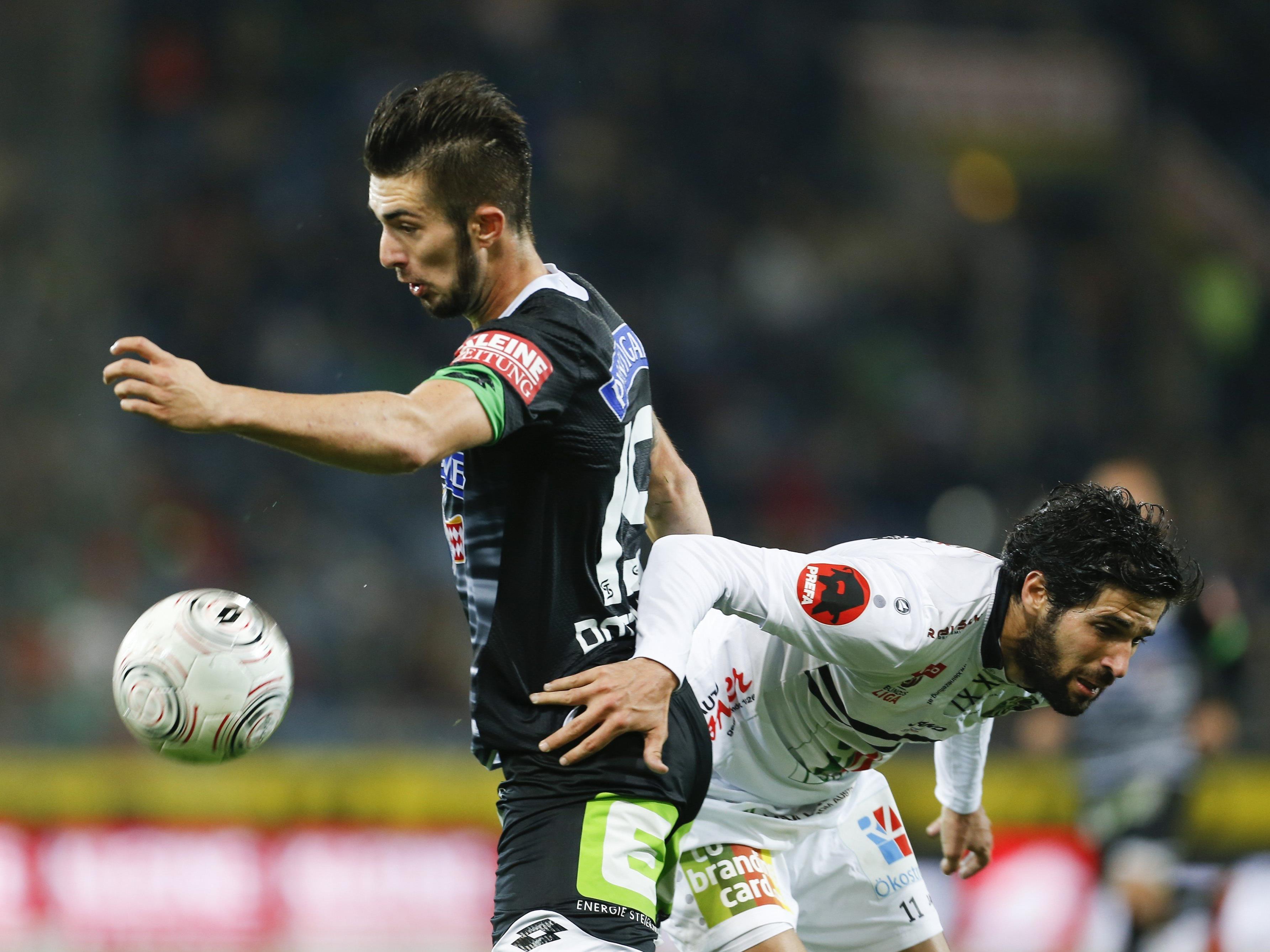 LIVE-Ticker zum Spiel WAC gegen SK Sturm Graz ab 18.30 Uhr.