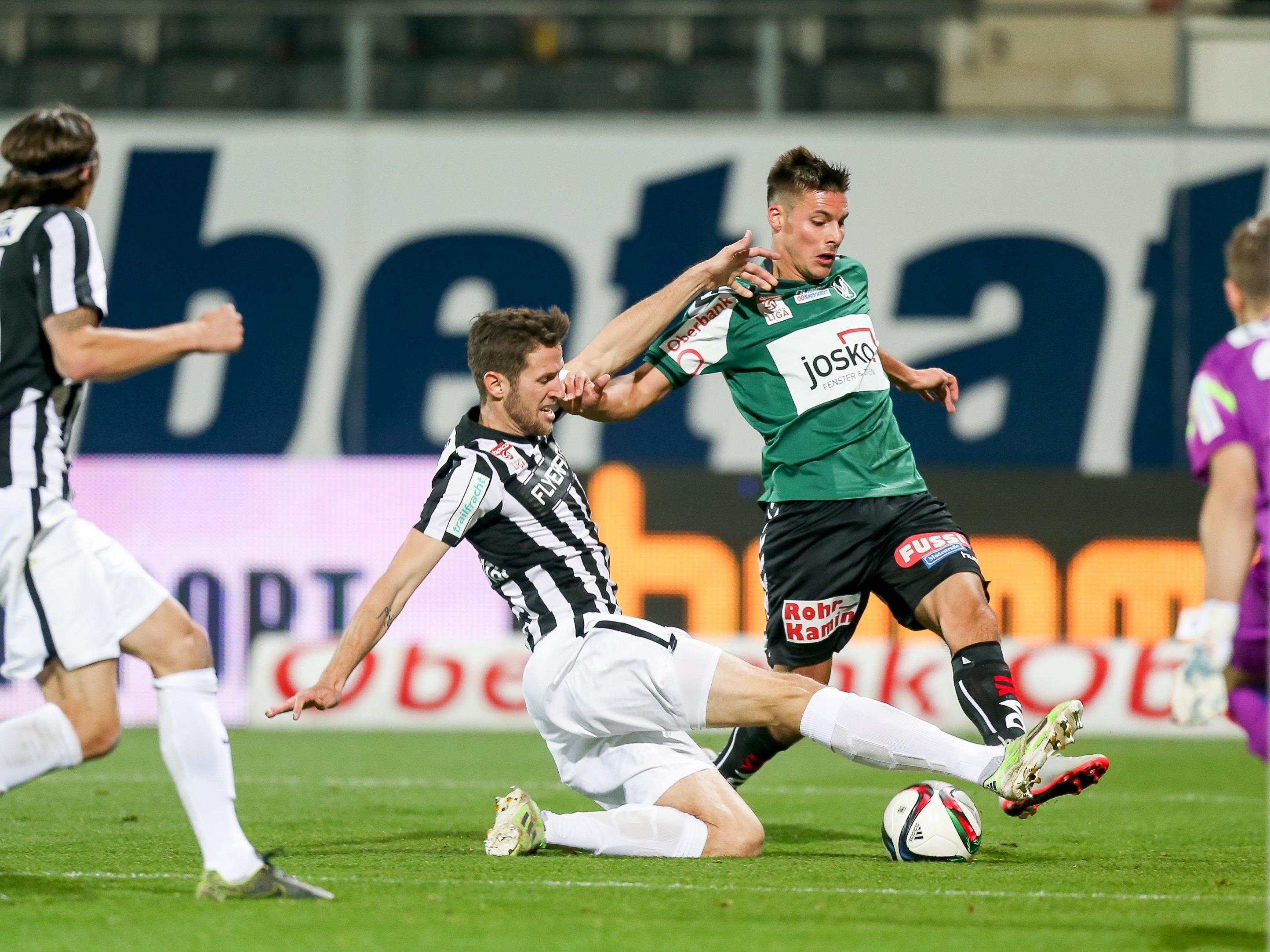 LIVE-Ticker zum Spiel FC Admira Wacker Mödling gegen SV Ried ab 18.30 Uhr.