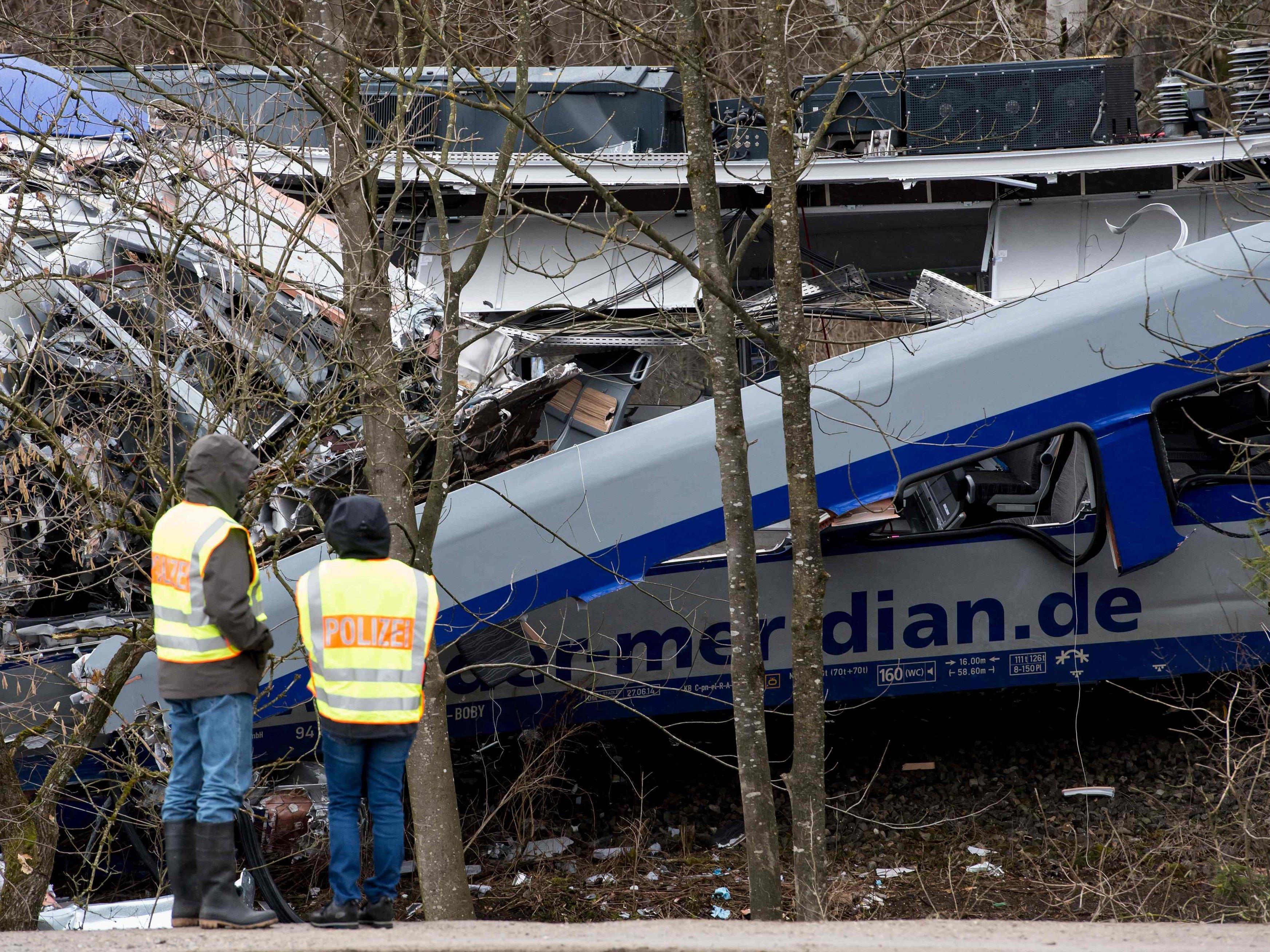 Das Zugunglück in Bad Aibling forderte zehn Menschenleben.