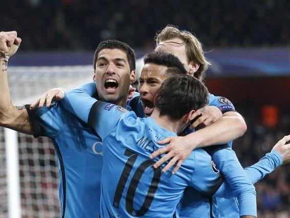 Der FC Barcelona steht nach dem Sieg in London mit einem Bein im Viertelfinale.