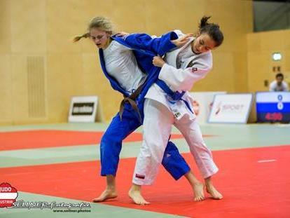 Celine Salzgeber wurde österreichische Meisterin in der Klasse U18 bis 48kg.