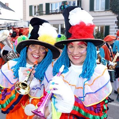 Fasching total in Bludenz.