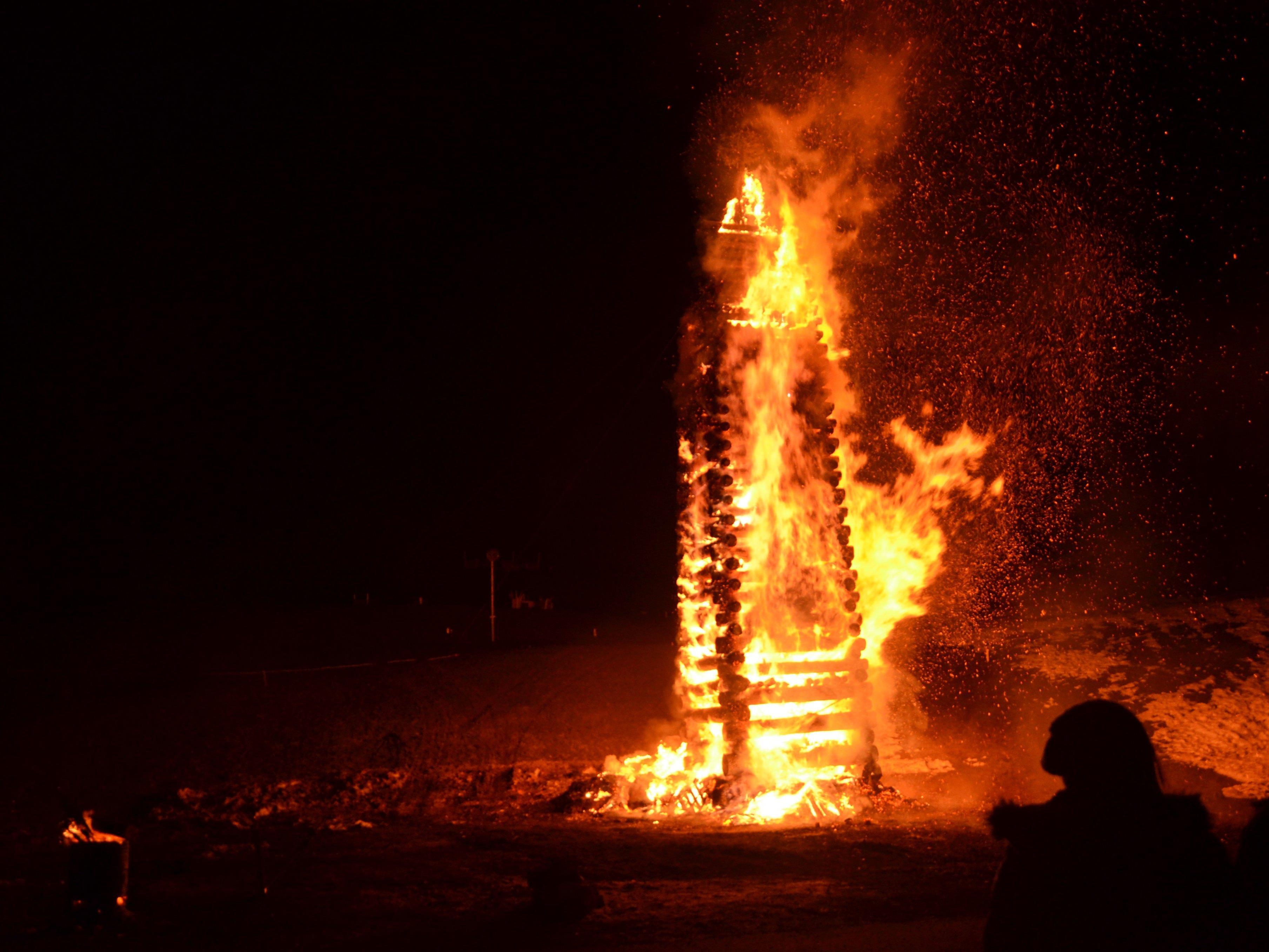 In allen Vorderländer Gemeinden werden am kommenden Wochenende die Funken abgebrannt