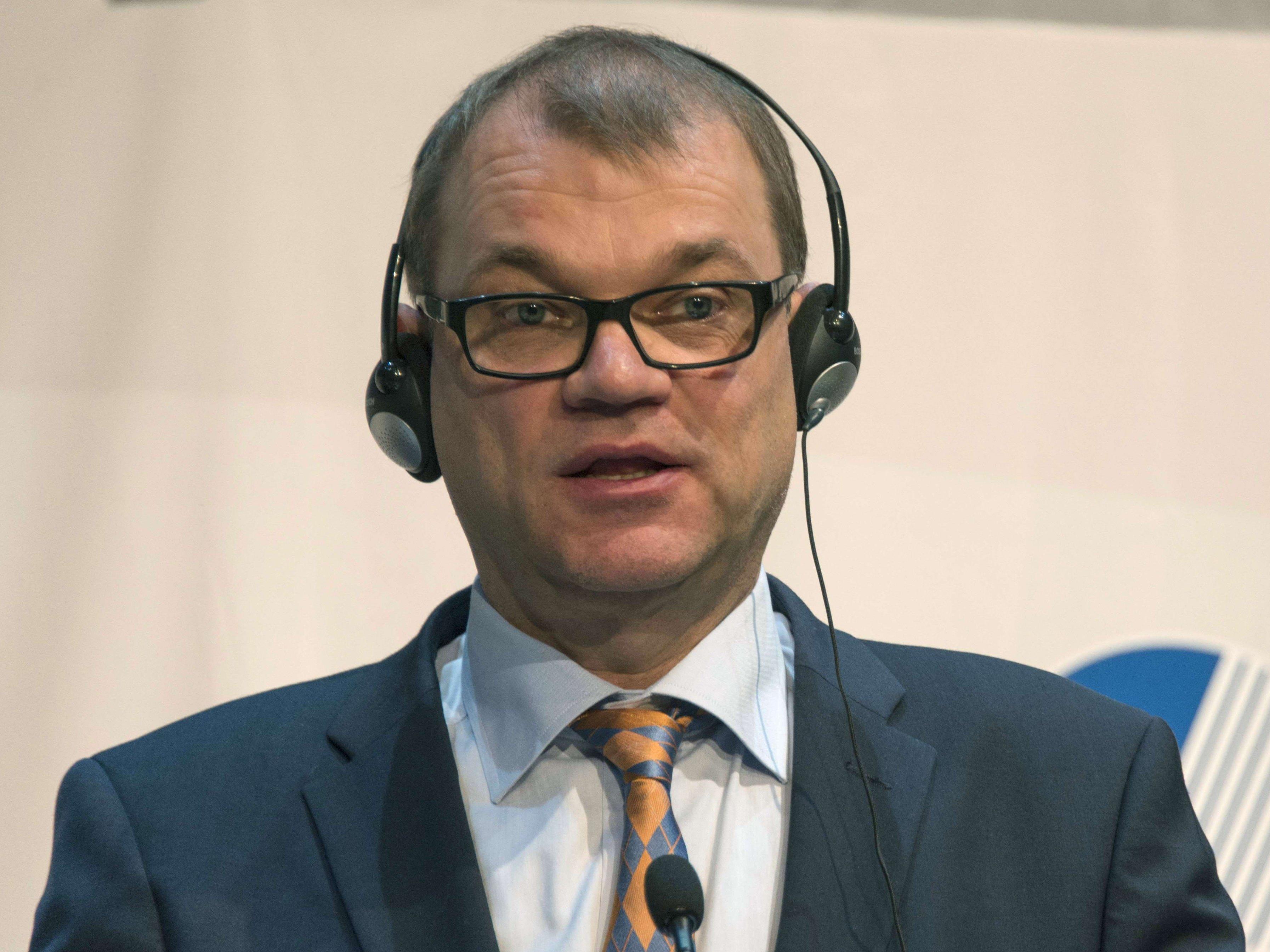 """Sipilä reagiert auf """"Neubewertung der Sicherheitslage""""."""