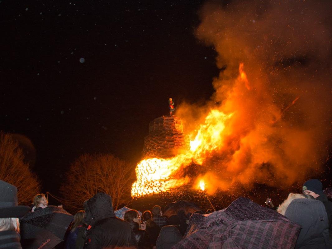 Heuer fing der Harder Funken rasch Feuer.