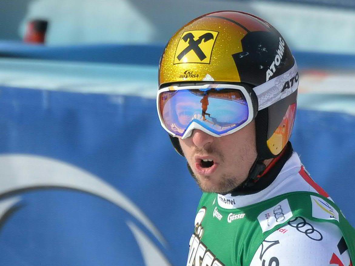 Viele Weltcuppunkte für Hirscher dank Rang 3 im Super-G.