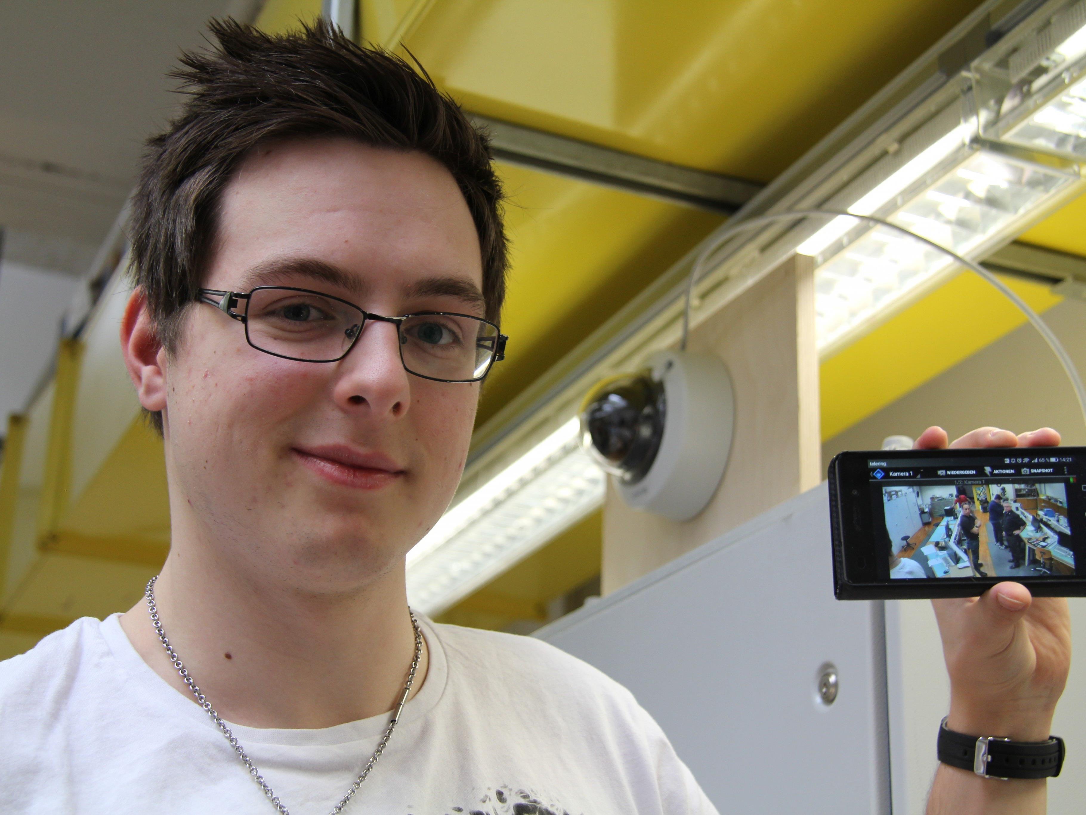 Die Videoüberwachung aufs Handy: Die Übungshäuser rüsten auf.