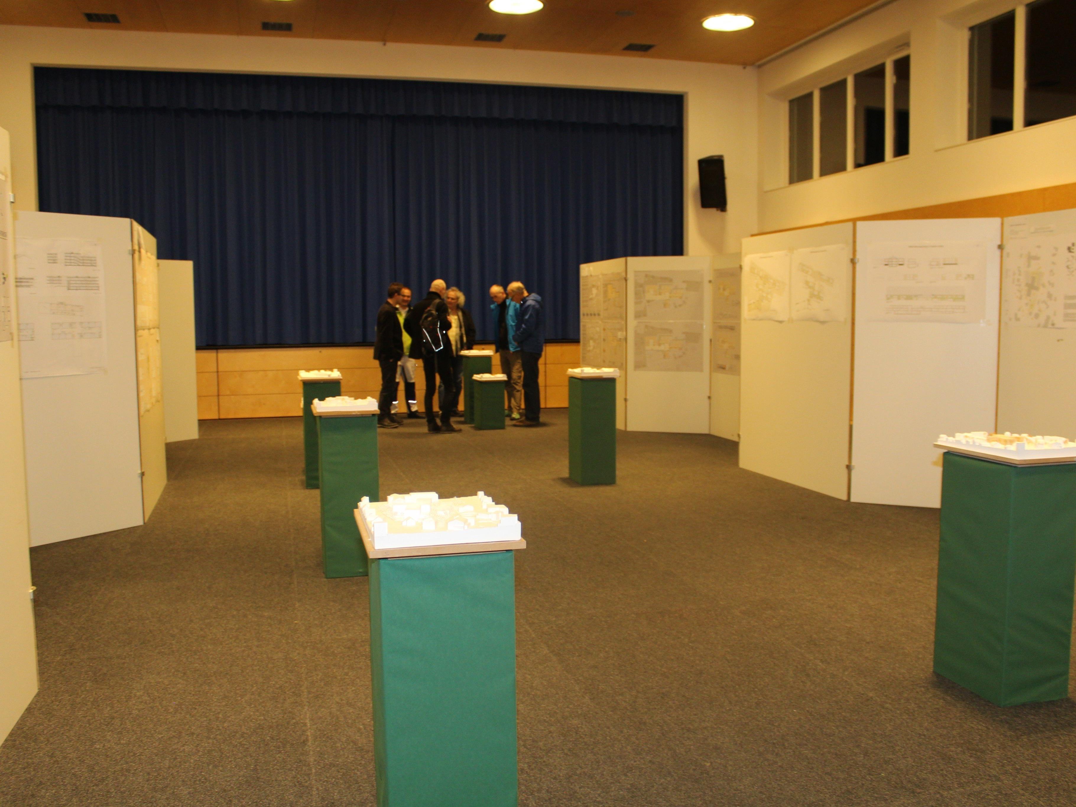 Die besten Entwürfe für das neue Bildungszentrum wurden präsentiert.