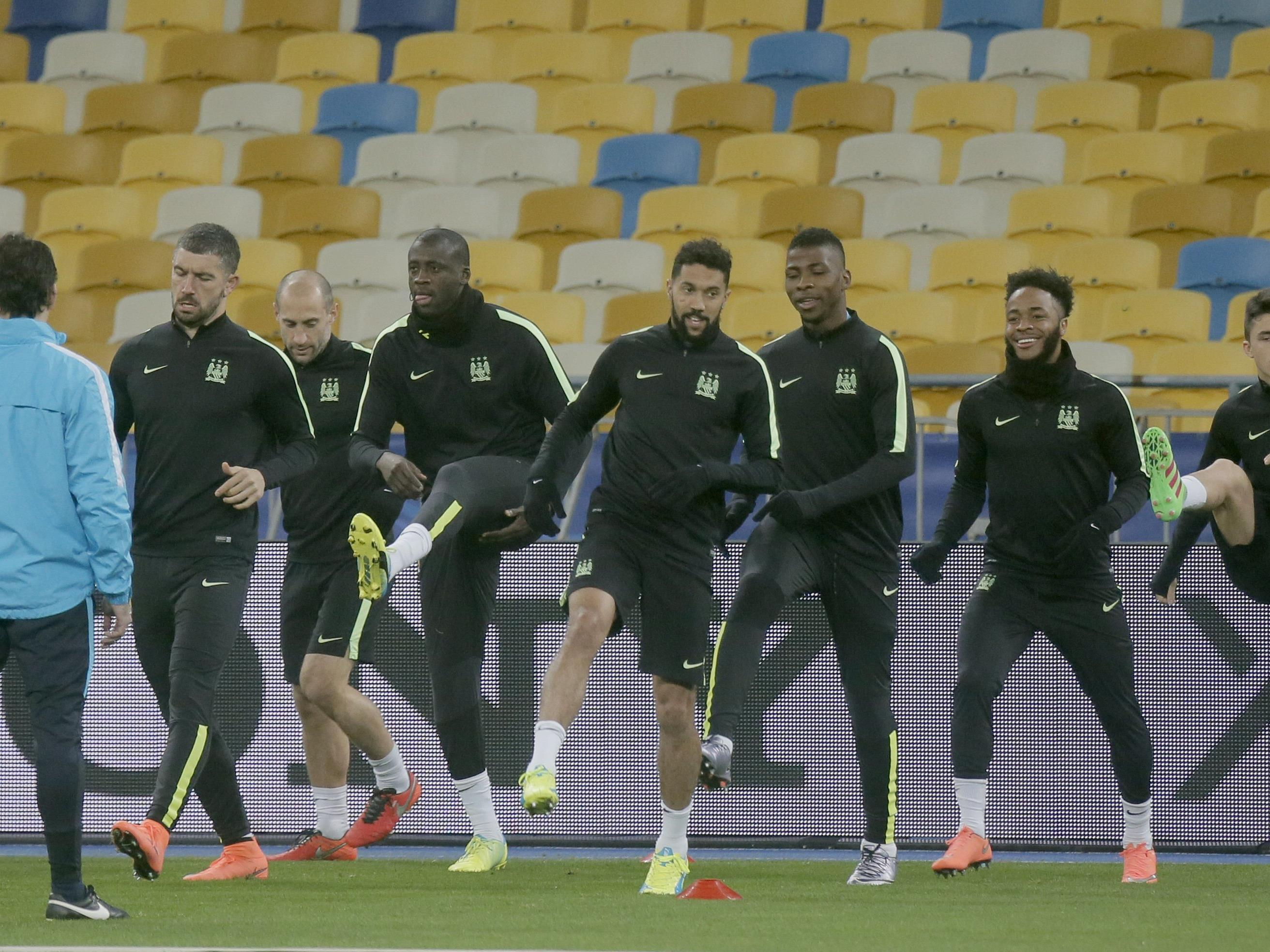 Manchester City ist auf ein hartes Duell in Kiew eingestellt.