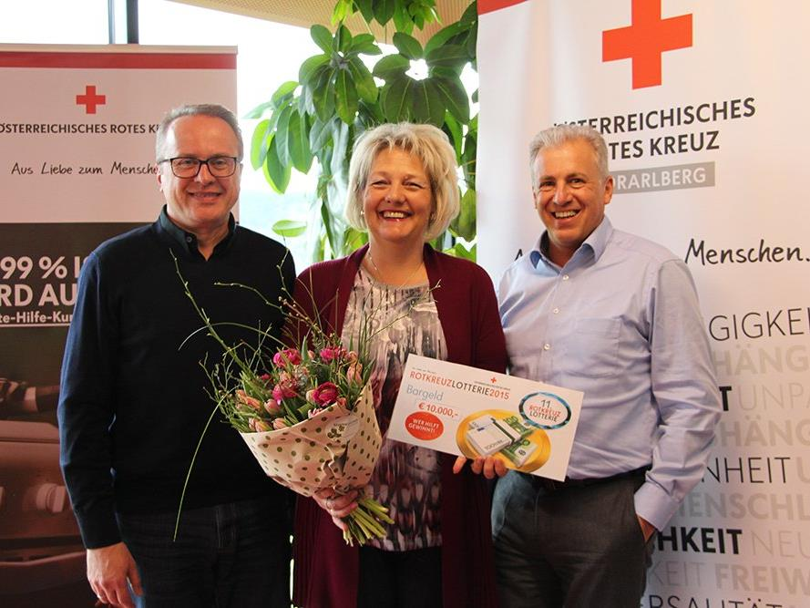 Der Hauptgewinn ging dieses Mal nach Lustenau.