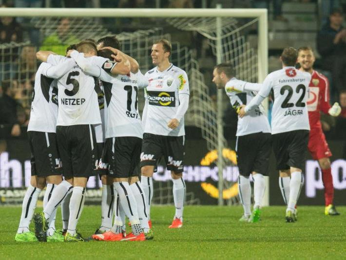 Altach möchte gegen Salzburg wieder Grund zum Jubeln haben