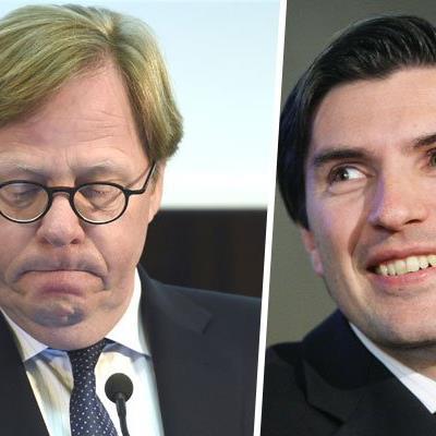 Willibald Cernko (l.) muss gehen, sein Nachfolger als BA-Chef ist Robert Zadrazil (r.).