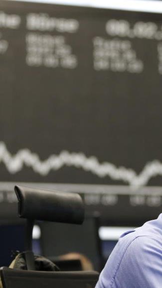 Krisenstimmung an der der Frankfurter Börse