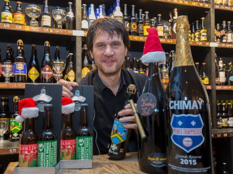 Verschiedene Bier-Sorten gibt's bei hops & malt in Dornbirn.