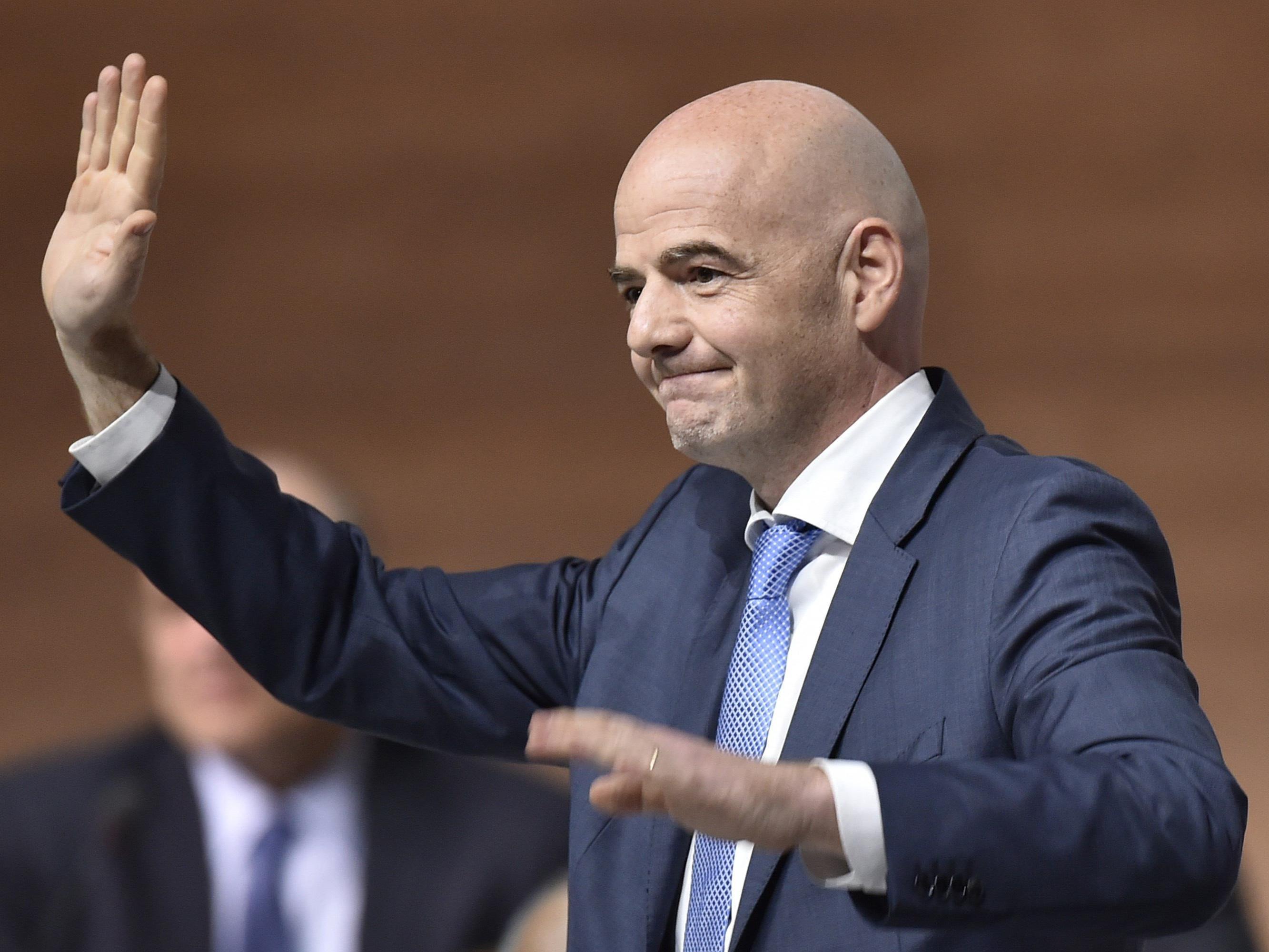 Der Schweizer Gianni Infantino ist Sepp Blatters Nachfolger als neuer FIFA-Präsident.