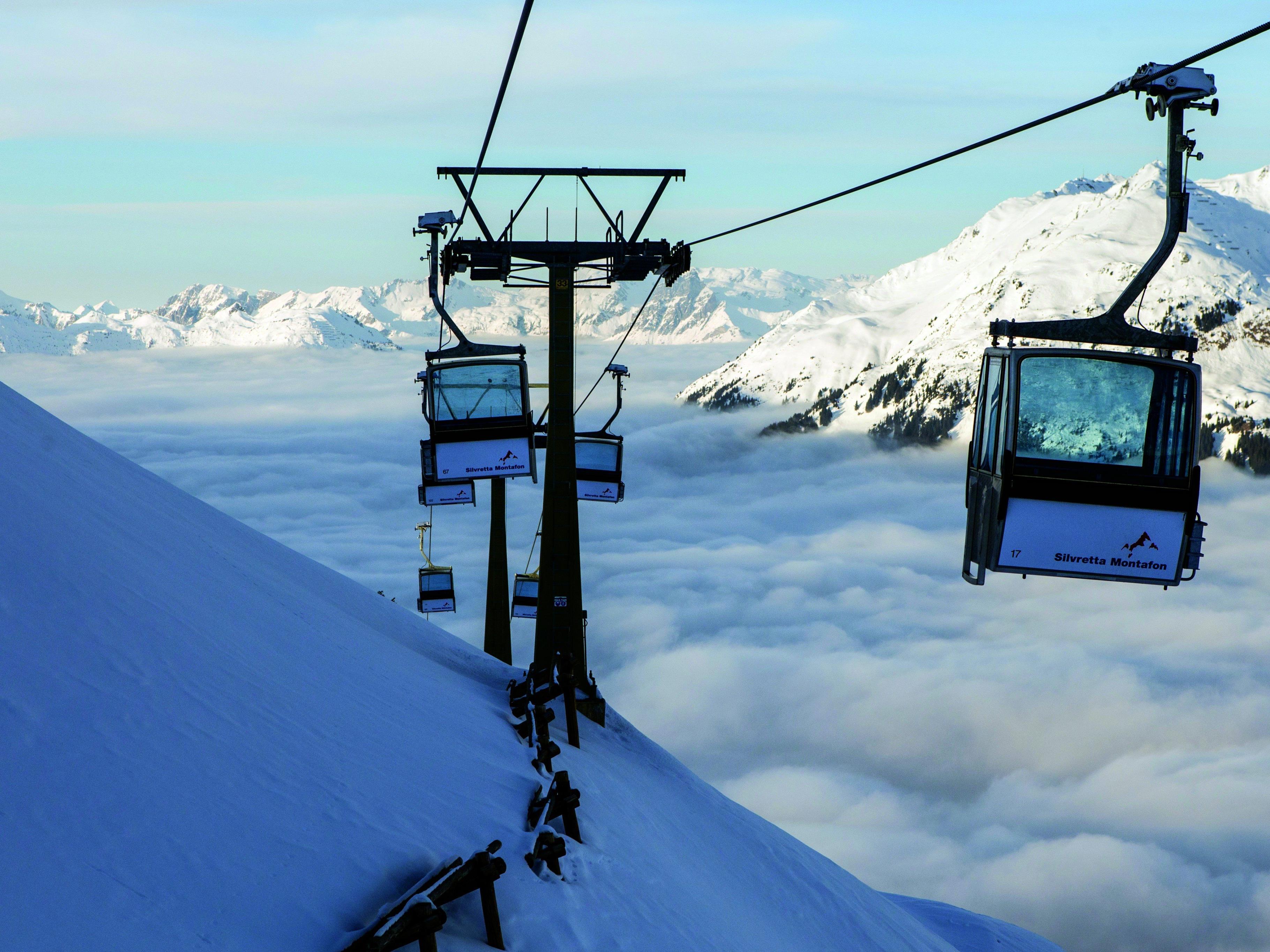 Die Valiserabahn ist eine der ältesten Bahnen im Skigebiet, eine Moderniserung ist unabdingbar.