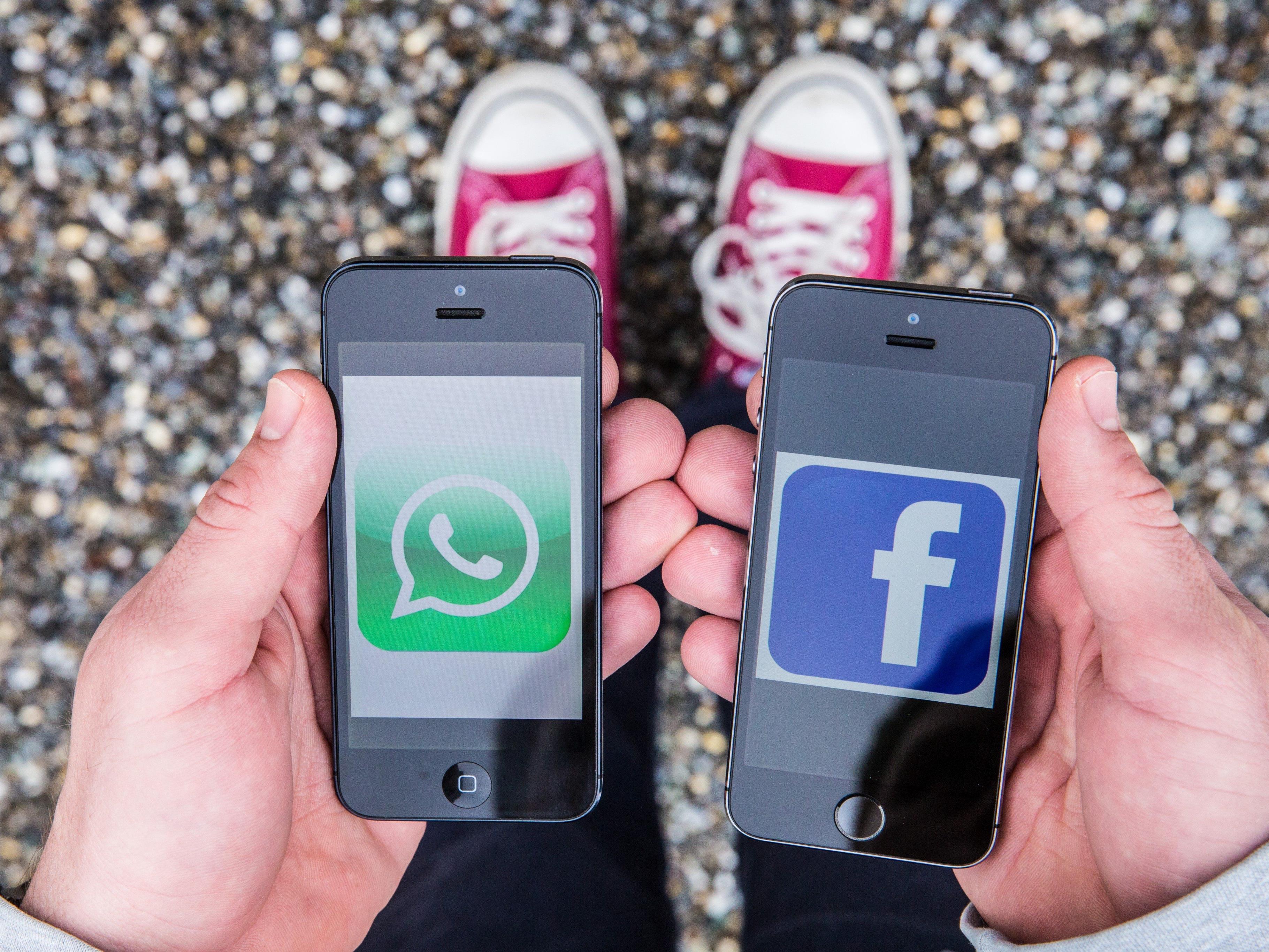 Jugendliche geben WhatsApp klar den Vorzug vor Facebook.