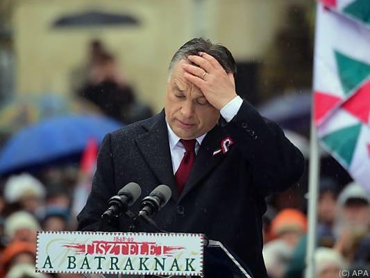 Orban will sich nicht belehren lassen