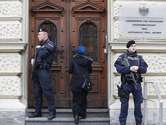 Der Prozess findet am Grazer Landesgericht statt