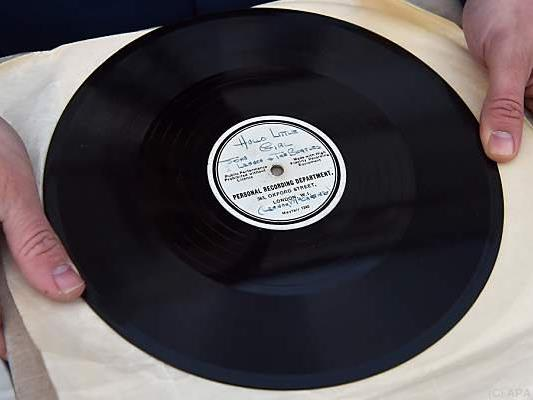 Ziemlich viel wert dieses Stück Vinyl