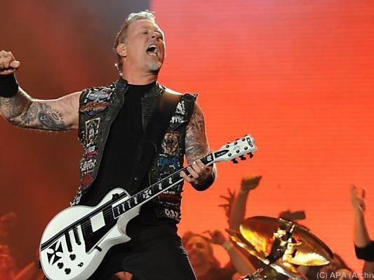 Besondere Ehre für Metallica