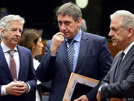 EU-Innenminister begreifen Ernst der Lage