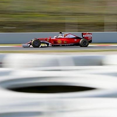 Finnischer Ferrari-Fahrer fuhr flott