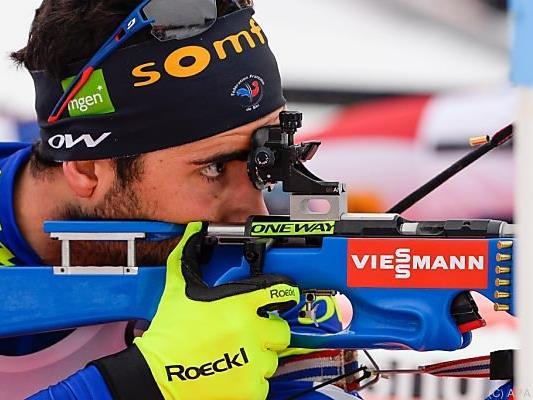 Fourcade holte seine achte Goldmedaille bei einer Biathlon-WM