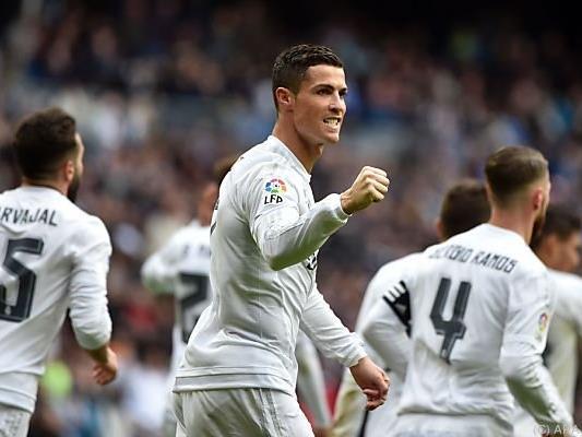 Mit vier Toren war Cristiano Ronaldo der Held des Tages