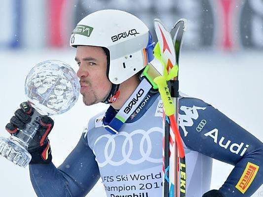 Den Abfahrtsweltcup gewann Peter Fill