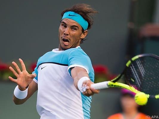 Nadal ist eine Runde weiter