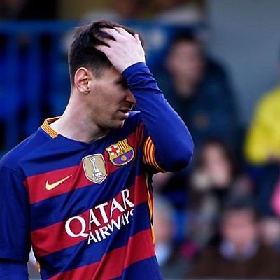 Zu scharf geschossen: Lionel Messi beim Spiel gegen Villareal
