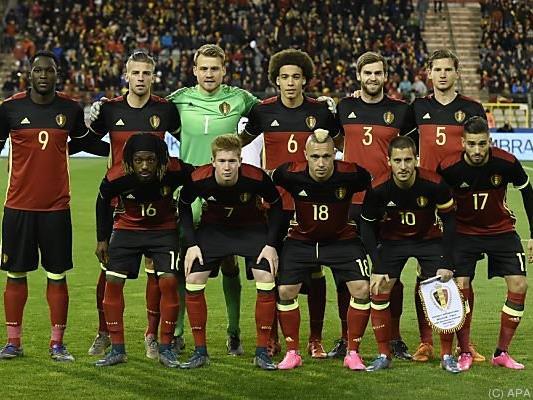 Sorgen um Testspiel des belgischen Fußball-Teams