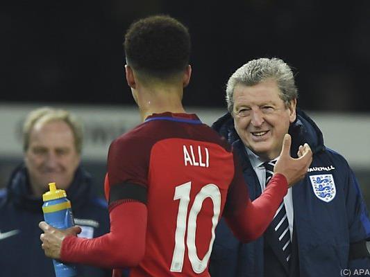 Coach Roy Hodgson bedankte sich bei seinem Spieler Dele Alli